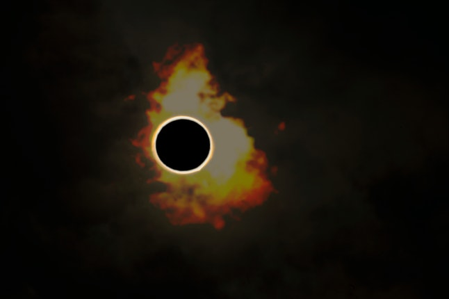 Total solar eclipse in India