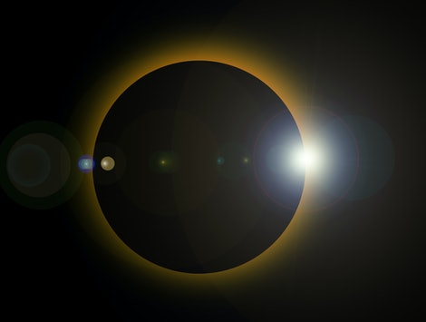 People in parts of Asia and the Middle East were treated to a solar eclipse on Christmas.