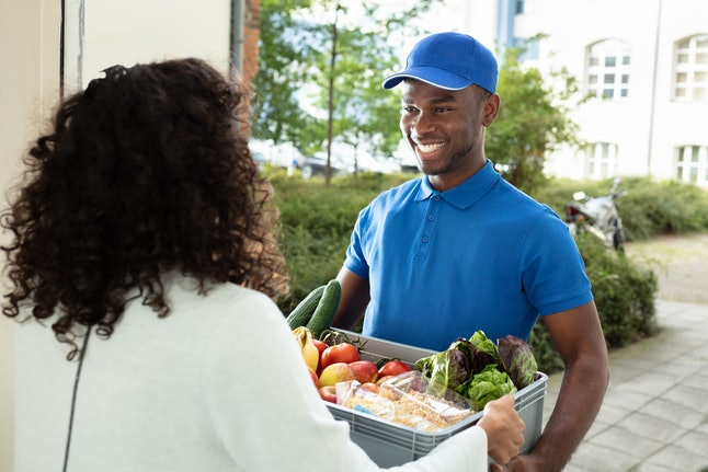 Grocery Delivery is a time-saving gift.