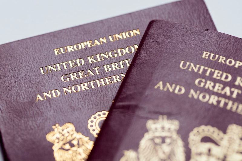 Passport of the United Kingdom