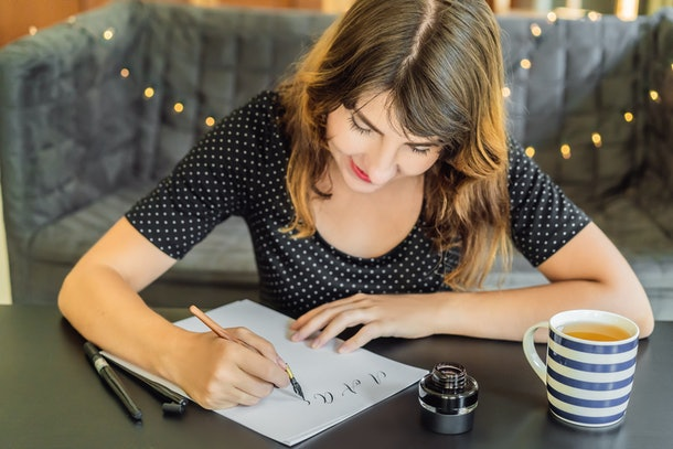 One of the things you can do to spoil your partner is writing them a handwritten thank you note.