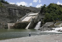 General View of the Largest Hydroelectric Plant in Central America 'Reventazon' in San Jose Costa Ri...