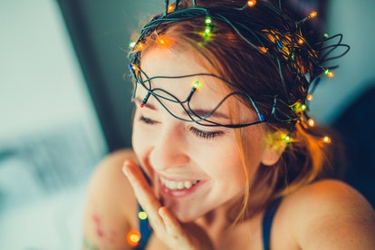 Christmas lights and Christmas mood