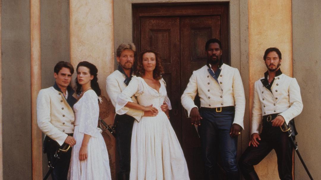 Robert Sean Leonard, Kate Beckinsale, Kenneth Branagh, Emma Thompson, Denzel Washington, Keanu Reeves