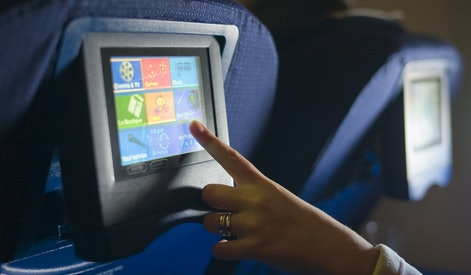 Inflight entertainment program, in-flight program selection