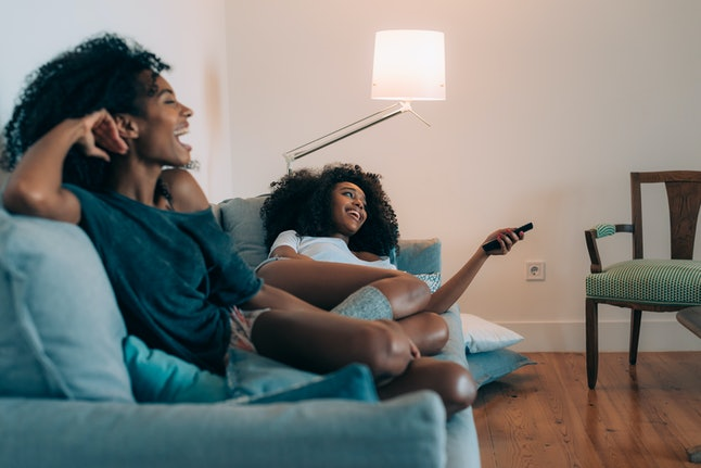 Experts say watching TV with friends can increase your bonding neurochemicals, and make you feel calmer.