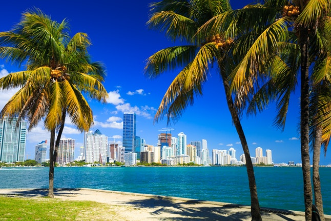Spend New Year's Eve in Miami, Florida