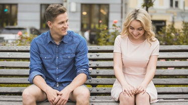 One of the most common signs your date is nervous around you is if their body looks stiff.