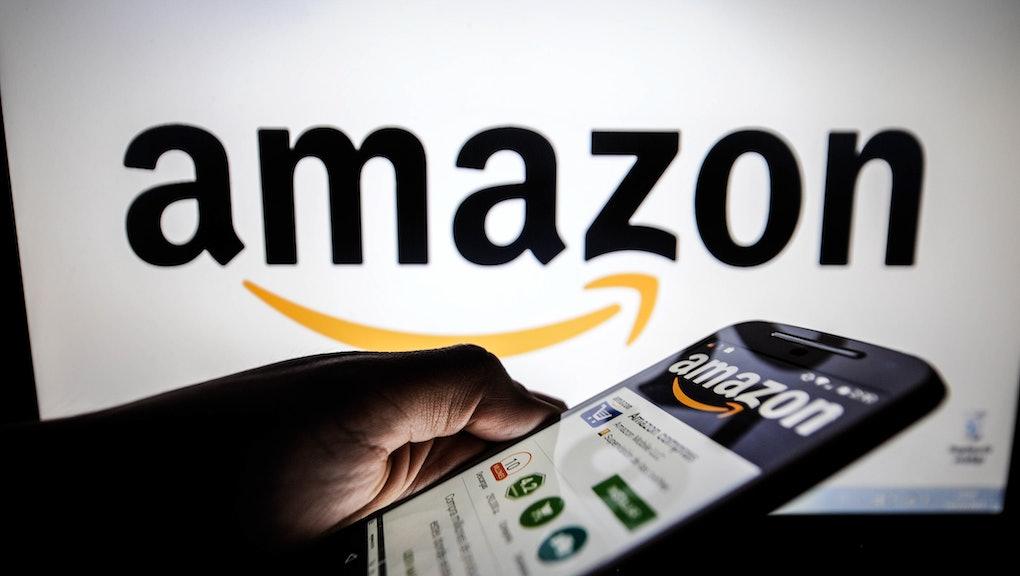 the website of Amazon