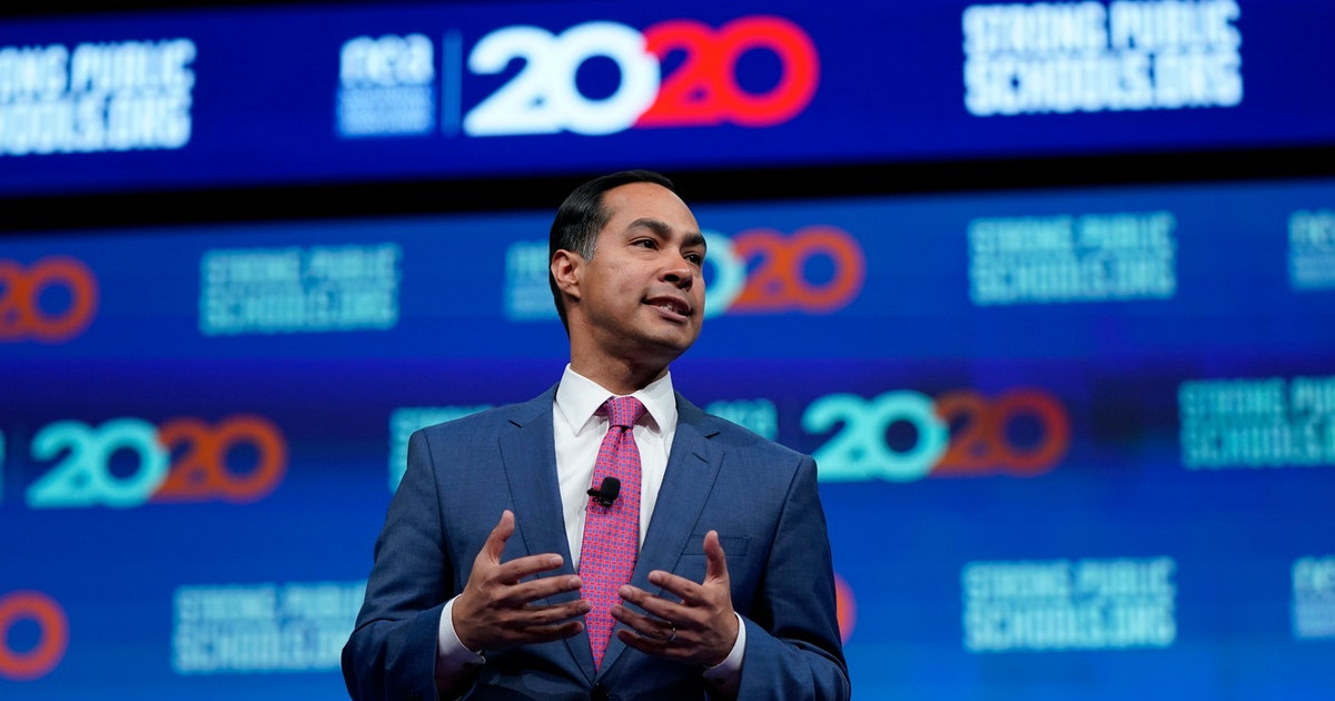 Julian Castro's speech on Eric Garner's death condemns the Justice Department's decision not to file charges