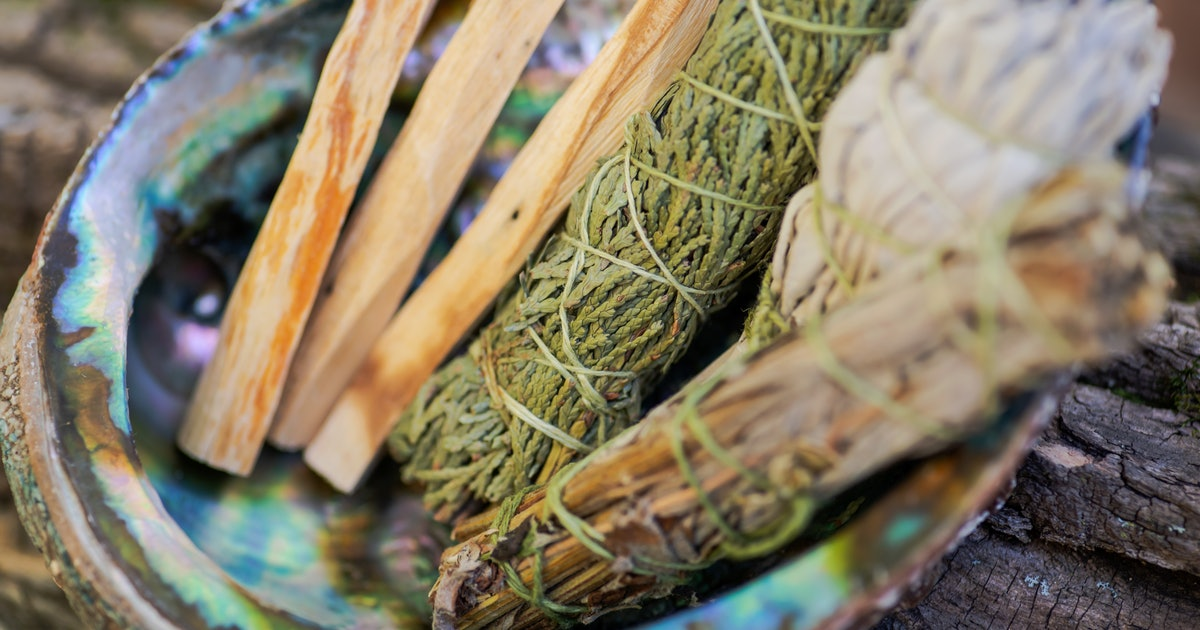 Is Burning Sage Cultural Appropriation? Here's How To Smoke Cleanse In Sensitive Ways