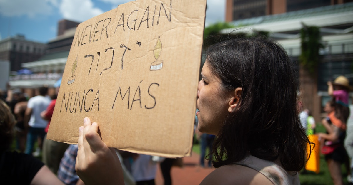How Jews are fighting ICE by teaming up with immigrant-led organizations in protest