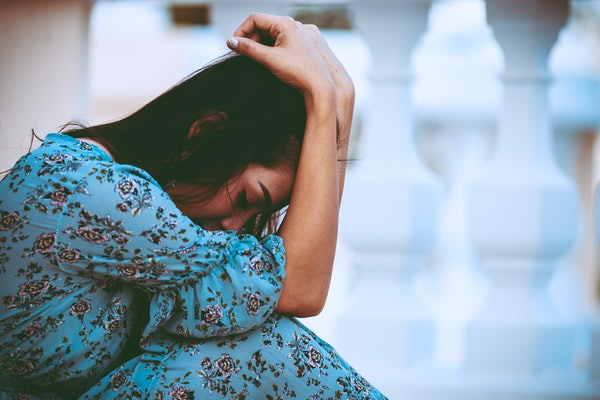 Crying and grieving the loss of your relationship is an important part of healing after a bad breakup.