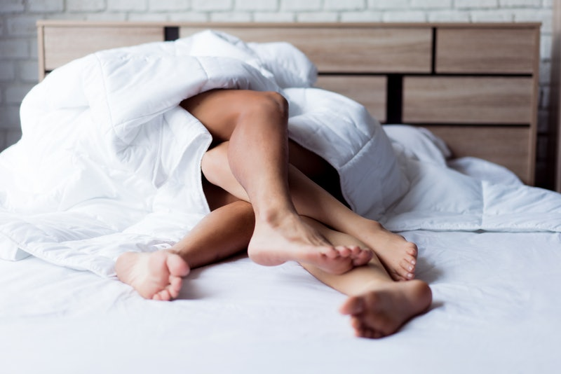 Four hot sex positions to try in bed.