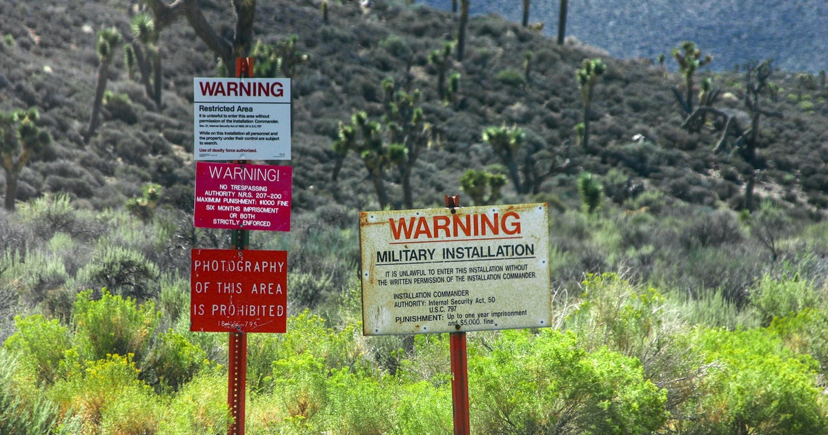 15 Places Like Area 51 Around The World You'll Probably Never Be Able To Visit