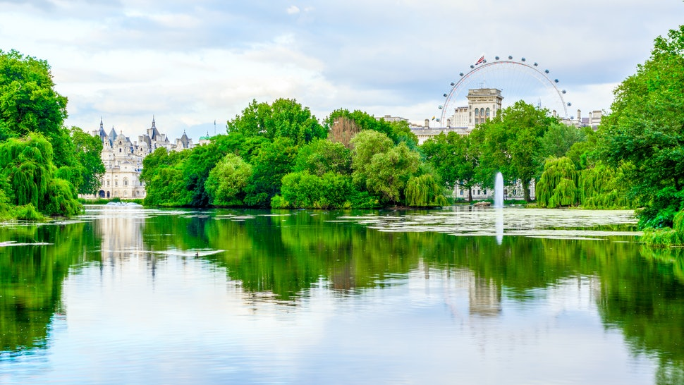 St. James Park in London during daytime