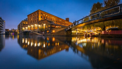 View of Camden Lock, London, United Kingdom