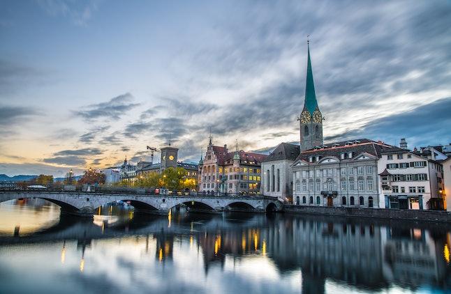 Pictures from around Zurich City and Zurich Lake