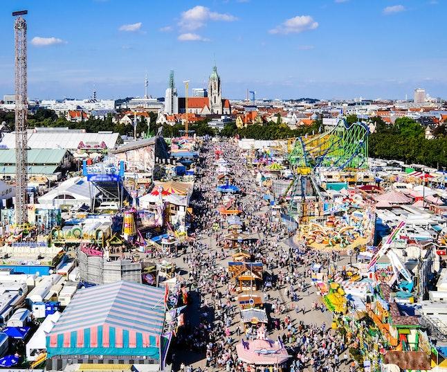 famous oktoberfest in munich - germany
