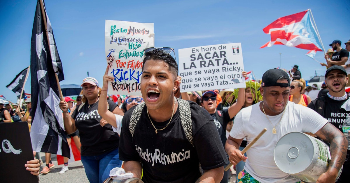 How Puerto Rican music has added power to the historic protests