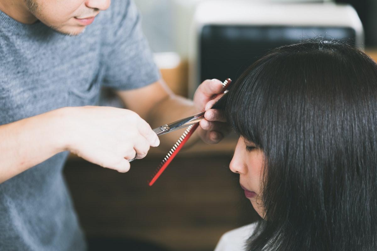 hair salon concept.