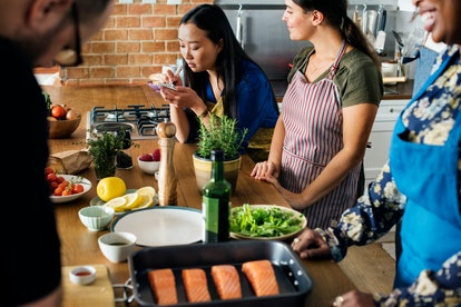 Take a cooking class together.