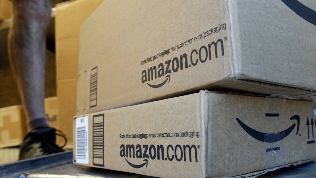 A United Parcel Service driver delivers packages from Amazon.com in Palo Alto, Calif., . Amazon.com Inc. said Wednesday that it will stop working with online affiliates based in California since the state passed a new rule that forces online retailers to collect sales tax there. In an email Wednesday to California-based affiliates - individuals or companies who run websites that refer visitors to Amazon and then get a cut of any resulting sales - the Seattle-based company said it would cut ties with those who reside in the nation's most populous state if the law became effective. Gov. Jerry Brown signed the law Wednesday as part of a larger state budget package