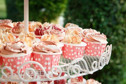Cupcakes in the wedding Day