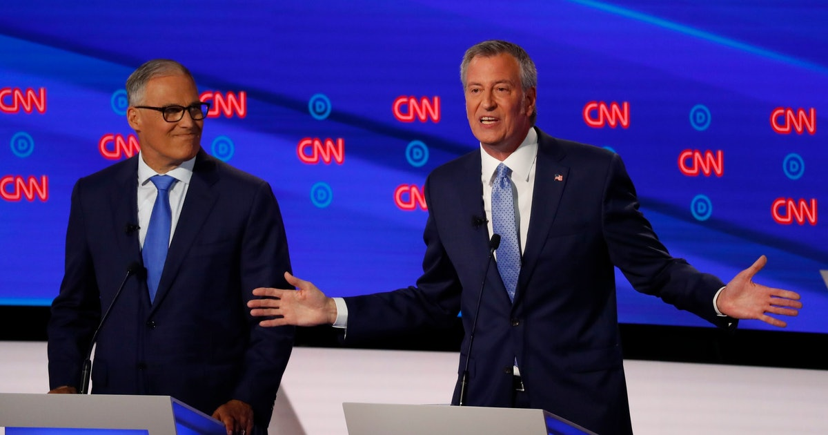 Protests during the Democratic debate called out the handling of the Eric Garner case