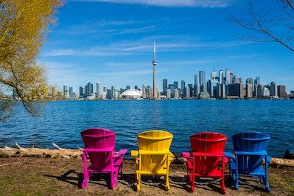 Toronto Skyline - Toronto Island