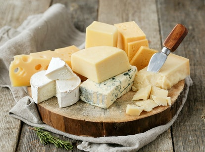 You can generally eat cheese past the expiration date as long as it's not super soft.