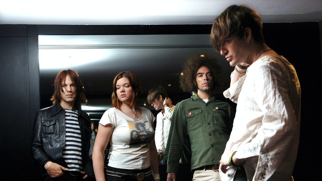 The Dandy Warhols - Peter Holmstrom, Zia McCabe, Brent Deboer and Courtney Taylor Taylor