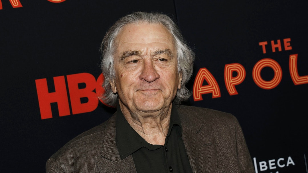 Robert De Niro attends the opening night of the 2019 Tribeca Film Festival World Premiere of the HBO Documentary film 'The Apollo' at the Apollo theater in New York, New York, 24 April 2019.