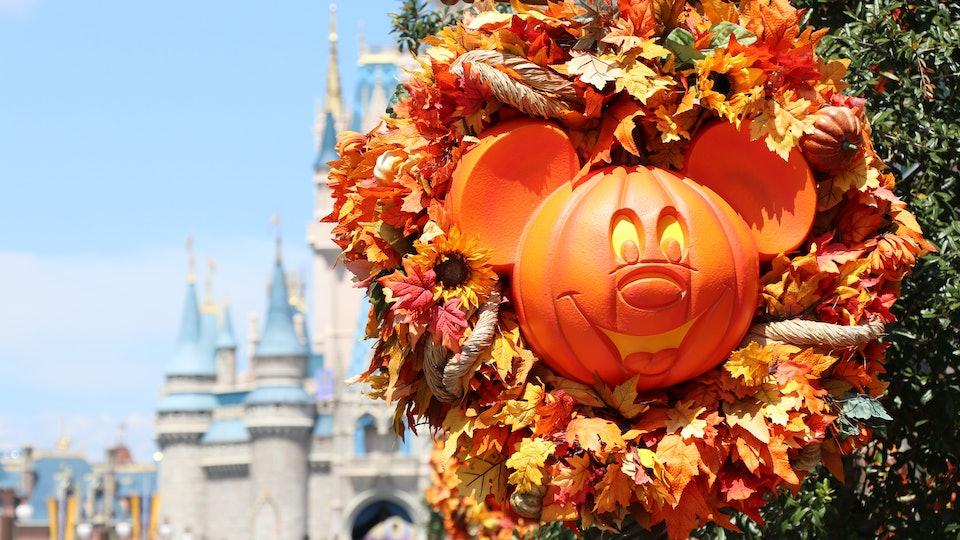 Mickey not so scary pumpkin