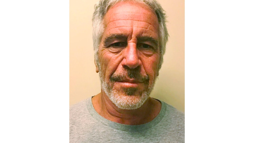 This March 28, 2017 image provided by the New York State Sex Offender Registry shows Jeffrey Epstein...
