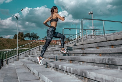 cycle syncing running exercise outdoors