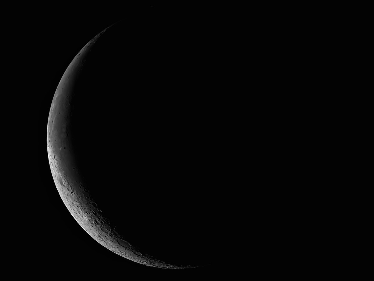 Series of Moon in November 2016 (26.2 Day Old)