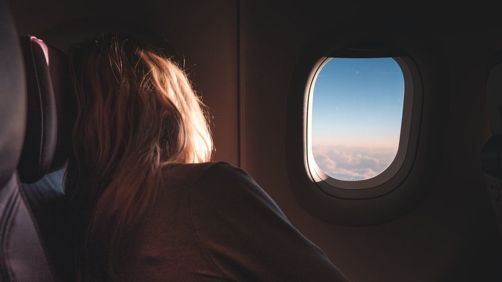The window seat is the easiest place on the plane to sleep.