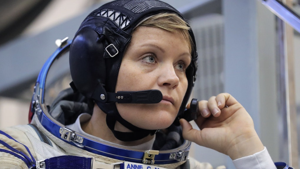 Member of the International Space Station (ISS) expedition 58/59, NASA astronaut Anne McClain attends her final exams at the Russian cosmonaut training center in Star City outside Moscow, Russia, 14 November 2018. The launch of the mission is scheduled on 03 December from the Baikonur Cosmodrome in Kazakhstan.