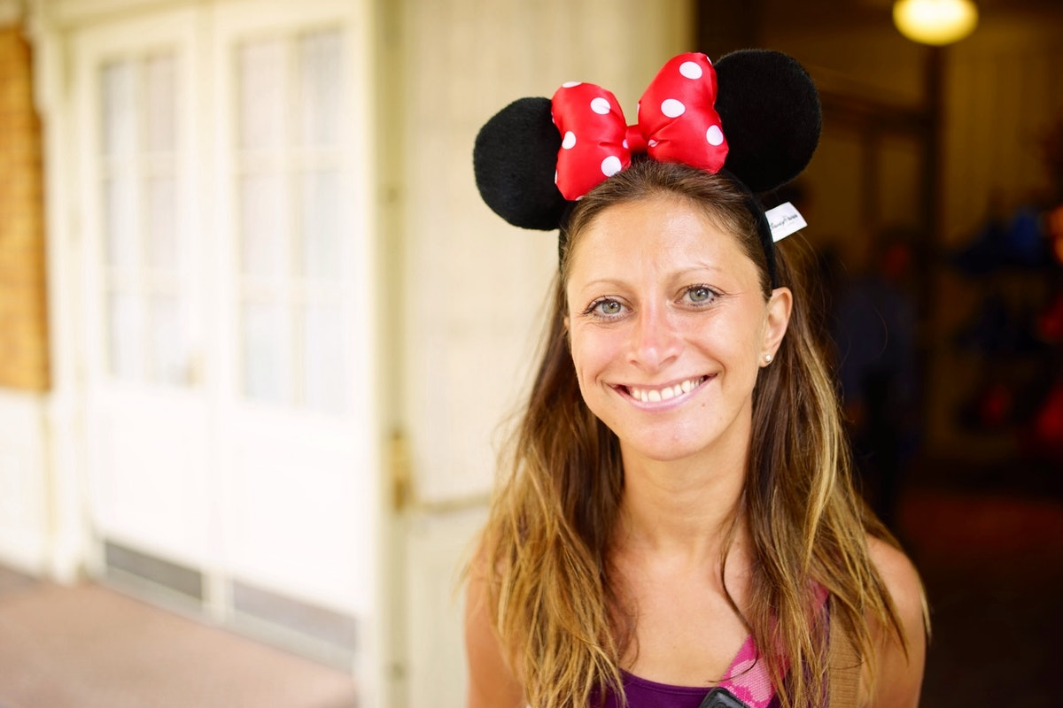 Mouse ears girl