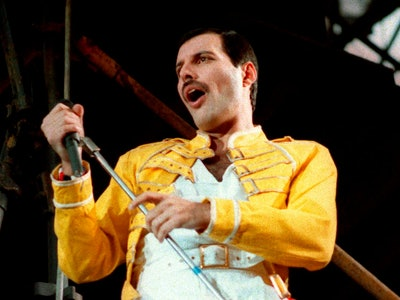 Queen lead singer Freddie Mercury performs, in Germany. A previously unheard and unreleased song by ...