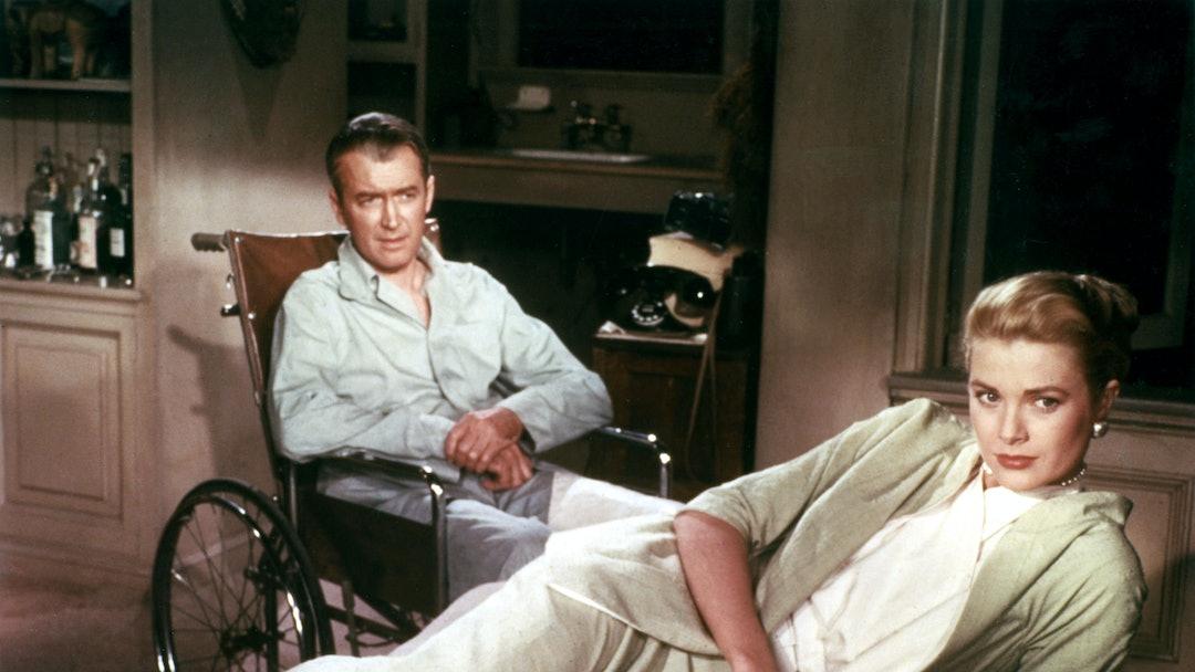 James Stewart, Grace Kelly