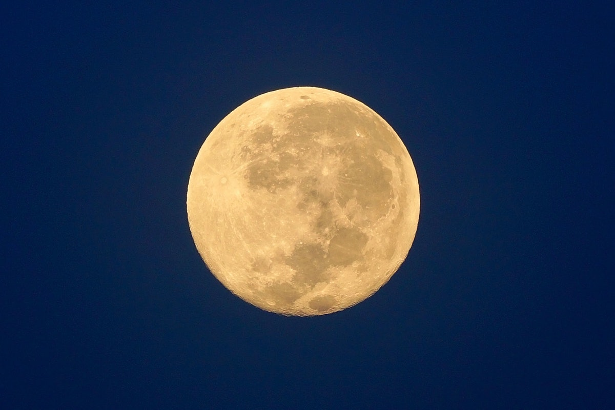 Full Moon / A full moon is the lunar phase that occurs when the Moon is completely illuminated as se...