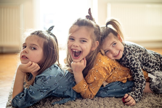As an older sister, I will always be there for them. Three little children at home together.