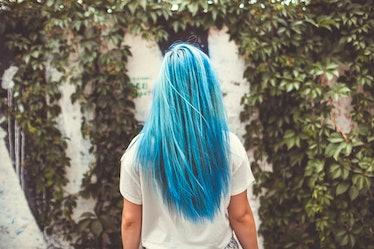 best blue hair dyes for dark hair