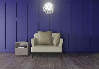 interior room design 3d rendering