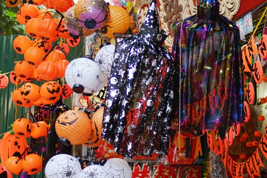 The store that selling halloween decoration at Old Quarter, Hanoi
