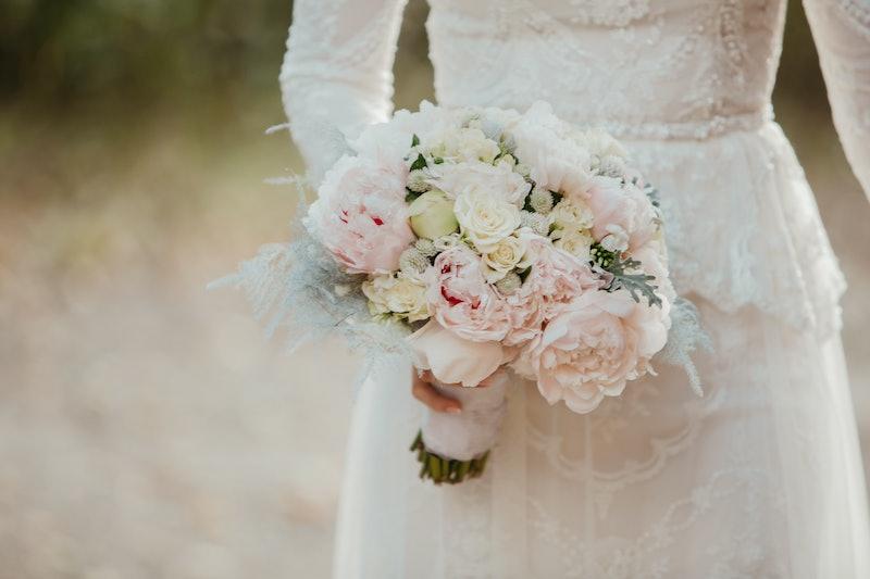 wedding day, wedding dress