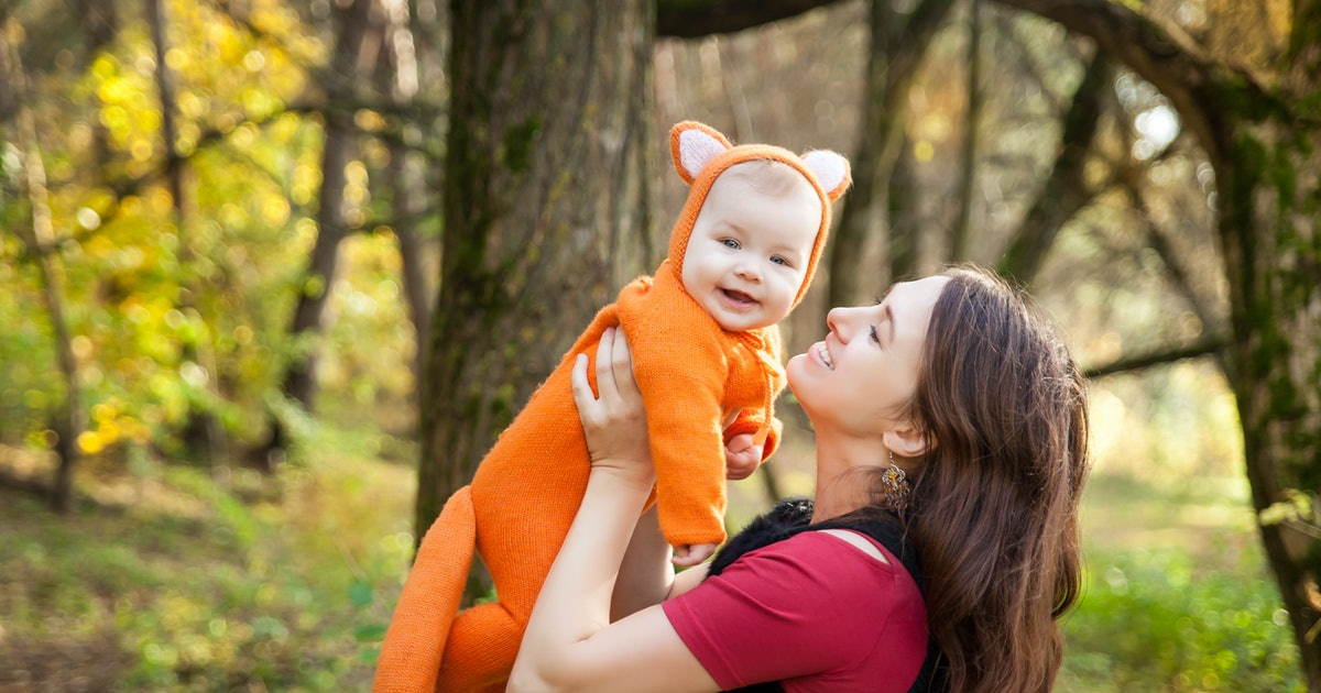 When Can You Take Your Baby Trick-Or-Treating? Here's What The Experts Say