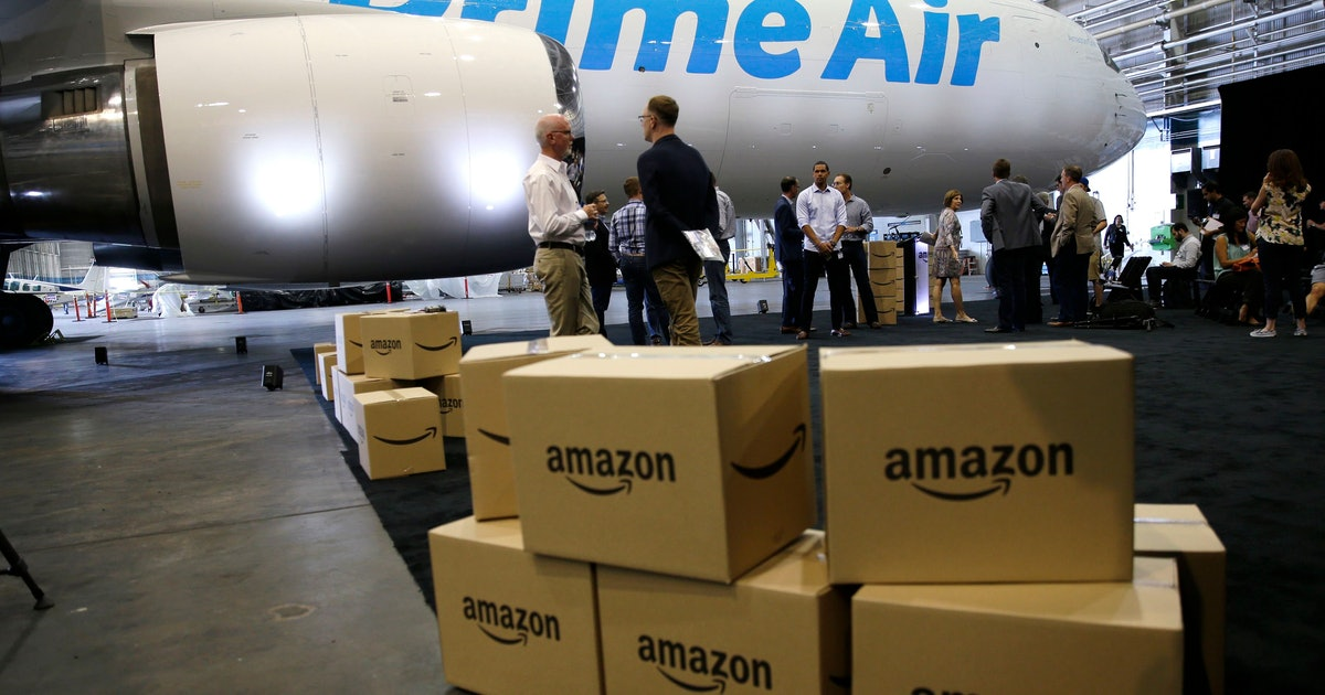Amazon's carbon footprint goes beyond shipping millions of Prime packages